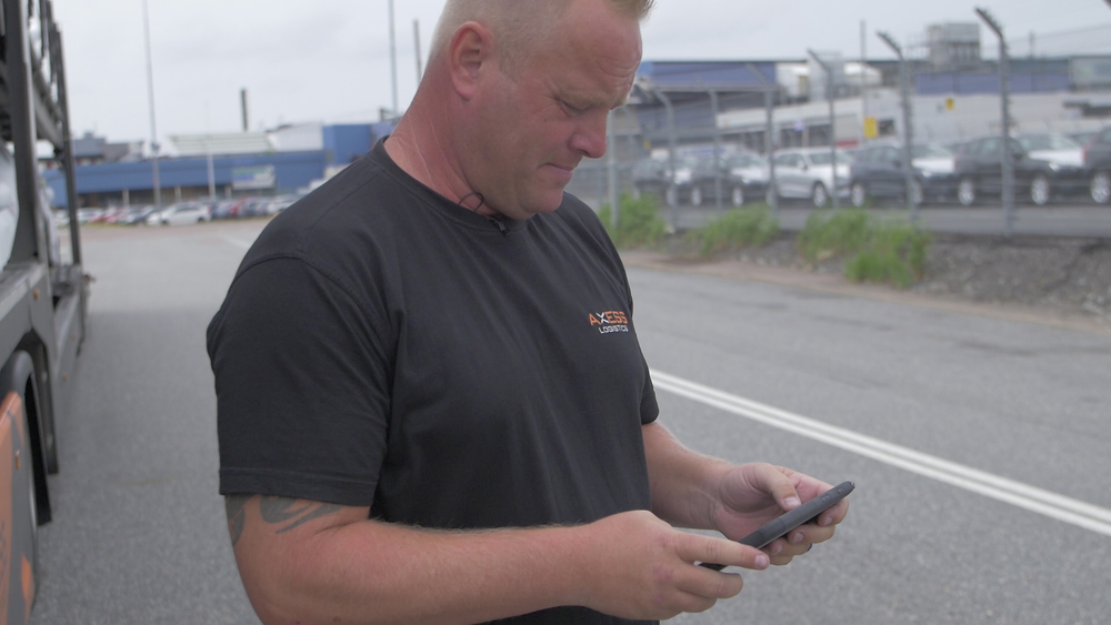 Nicklas at Axess Logistics reduces waiting times with Vehco