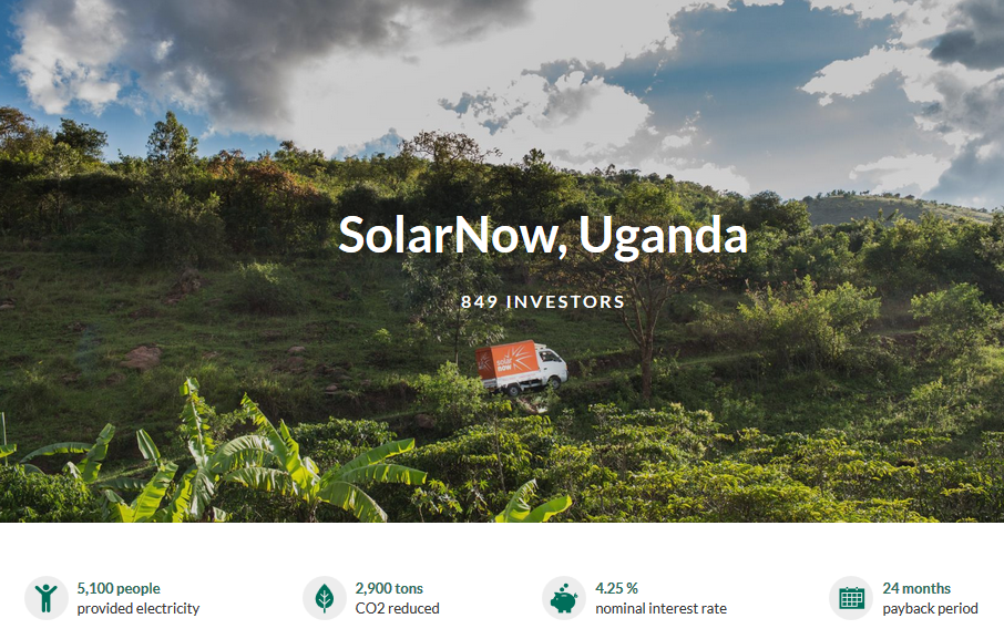 Vehco helps families in Uganda to get access to clean power